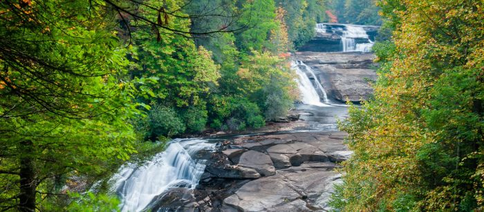 Dupont-Forest-Triple-Falls