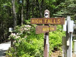 high falls trail